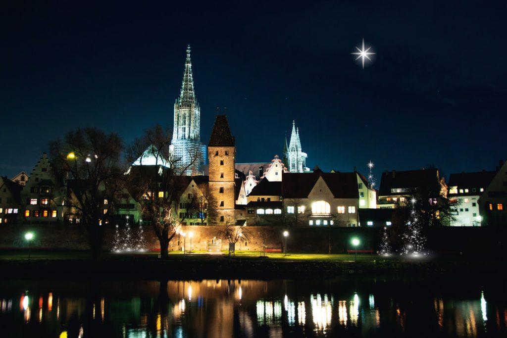 Weihnachtliches Ulm