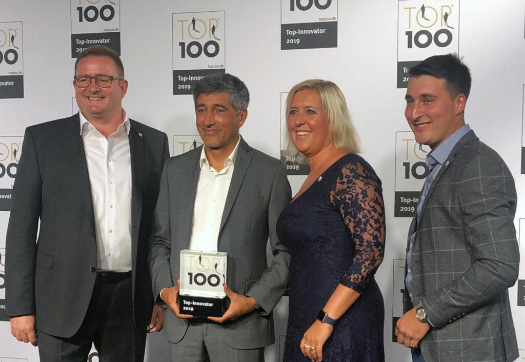 Marcus Dodel Preisträger TOP 100 mit Frau Ehefrau, Facharbeiter und Ranga Yogeshwar