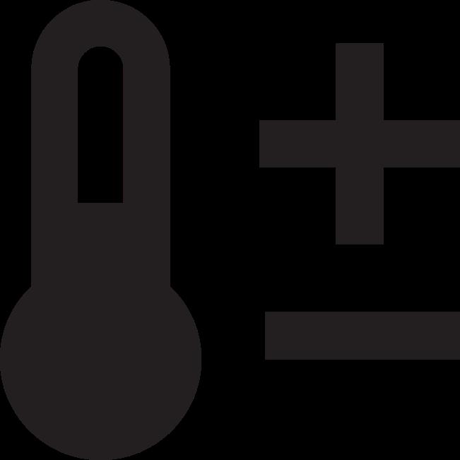 Icon Raumtemperatur und Klima